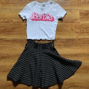 Barbie top and skirt bundle deal